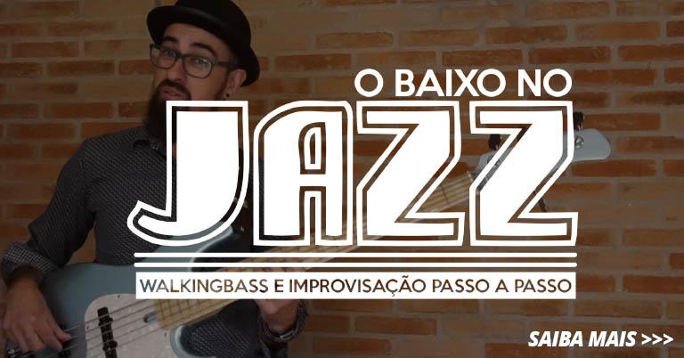 Curso o Baixo no Jazz